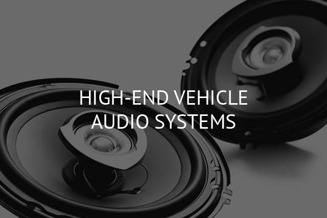 High End Vehicle Audio Installations Image