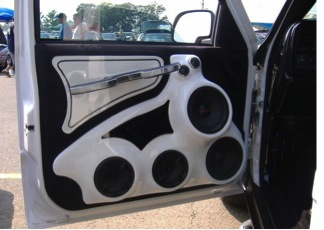 car audio fitment, Ace Customs car audio fitting