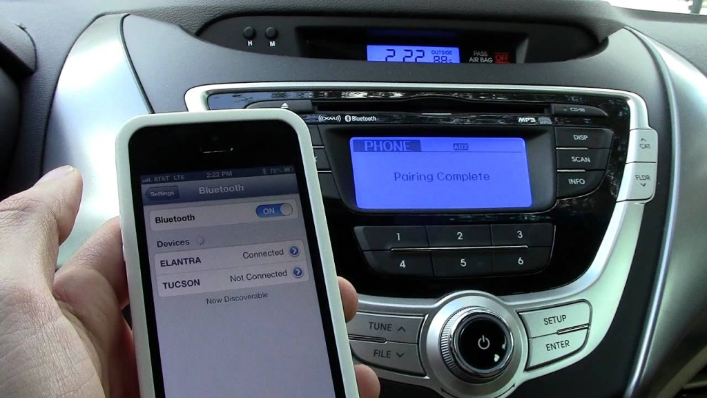 Car with Bluetooth Pairing